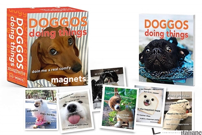 Doggos Doing Things Magnets - Doing Things Media