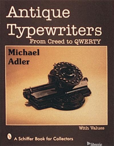 ANTIQUE TYPEWRITERS -