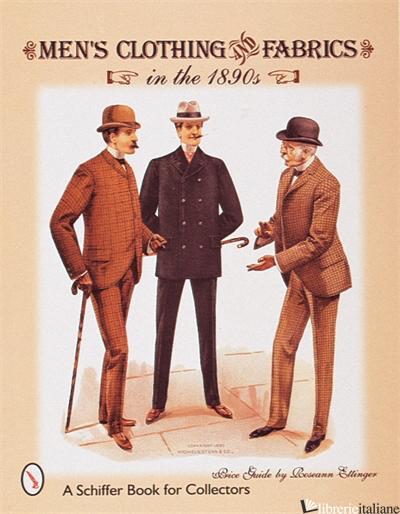 MEN'S CLOTHING & FABRICS - ROSEANN ETTINGER
