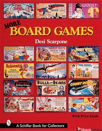 BOARD GAMES MORE - DESI SCARPONE