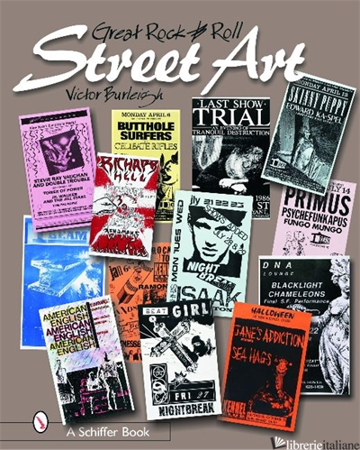 Great Rock & Roll Street Art - VICTOR BURLEIGH