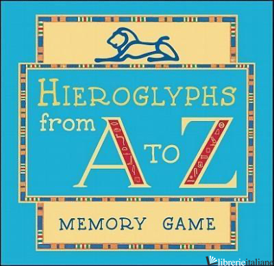 HIEROGLYPHS FROM A TO Z , MEMORY GAME AND BOOK ---PF--- -