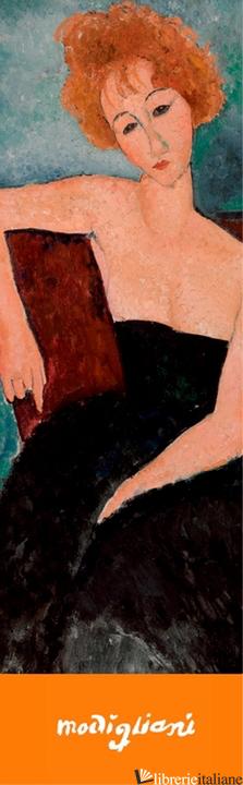 Modigliani: Redheaded Girl in Evening Dress Bookmark -
