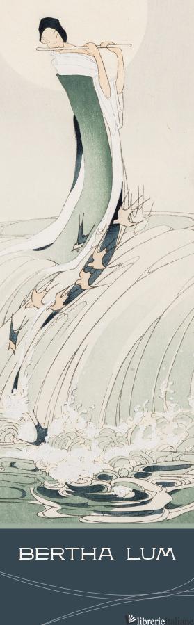 Female Figure on Waves Bookmark -