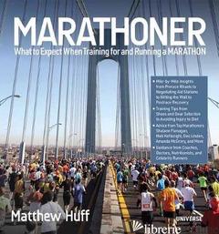 Marathoner - Matthew Huff with Bridget Quinn; Jayson Kayser,