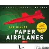 ONE MINUTE PAPER AIRPLANES KIT - ANDREW DEWAR E