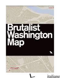 Brutalist Washington Map - Madsen, Deane