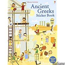 ANCIENT GREEKS STICKER BOOK - AA.VV