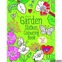 Garden Sticker & Colouring Book -