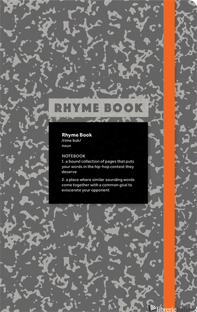 Rhyme Book: A lined notebook with quotes, playlists, and rap stats - Eric Rosenthal and Jeff Rosenthal