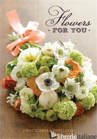 Flowers for You:8 Notecards - STUDIO CHOO