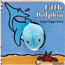 LITTLE DOLPHIN FINGER PUPPET BOOK - IMAGEBOOKS