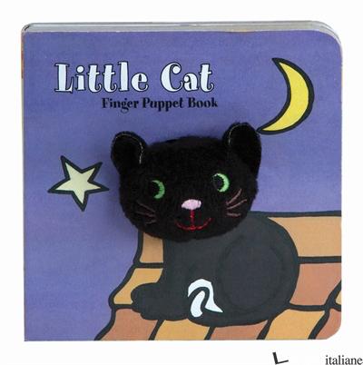 LITTLE CAT: FINGER PUPPET BOOK - CHRONICLE BOOKS