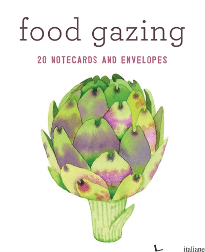 FOOD GAZING NOTECARD SET - CHRONICLE BOOKS