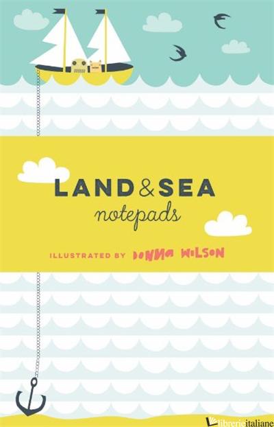 LAND & SEA NOTEPADS - DONNA WILSON