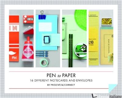 PEN TO PAPER NOTECARDS - PRESENT E CORRECT