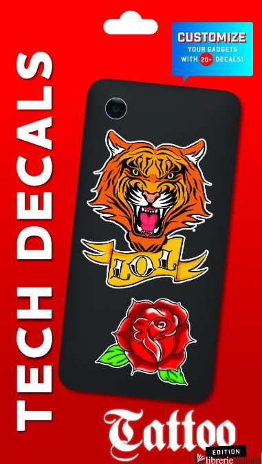 TATTOO TECH DECALS - CHRONICLE BOOKS