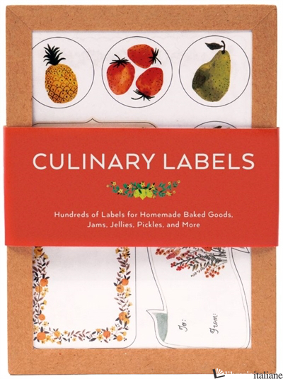 CULINARY LABELS - CHRONICLE BOOKS