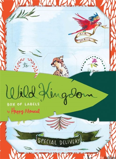 WILD KINGDOM BOX OF LABELS - EDITED BY HAPPY MENOCAL