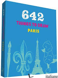 642 THINGS TO DRAW: PARIS (POCKET-SIZE) - CHRONICLE BOOKS