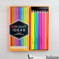 BRIGHT IDEAS NEON AND SPARKLE GEL PENS - CHRONICLE BOOKS