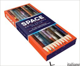 SPACE SWIRL COLORED PENCILS - CHRONICLE BOOKS