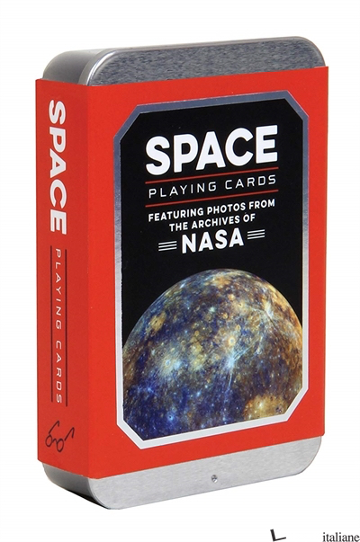 SPACE PLAYING CARDS - CHRONICLE BOOKS