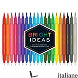 BRIGHT IDEAS DOUBLE-ENDED COLORED BRUSH PENS - Chronicle Books