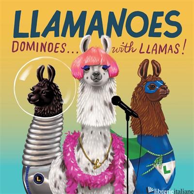Llamanoes - Chronicle Books, illustrated by Shyama Golden