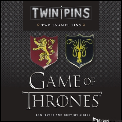 Game of Thrones Twin Pins 2 - Chronicle Books