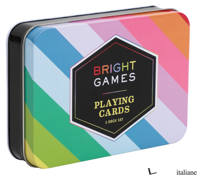 Bright Games 2-Deck Set of Playing Cards - Chronicle Books