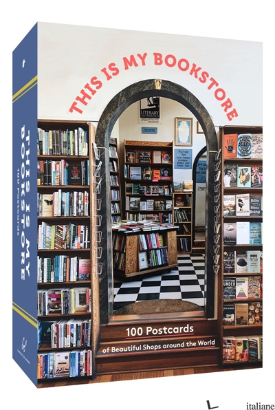 This Is My Bookstore 100 Postcards of Beautiful Shops around the World -