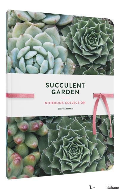 Succulent Garden Notebook Collection - Edyta Szyszlo