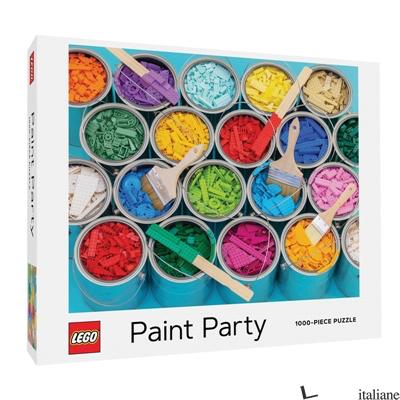 LEGO Paint Party Puzzle - Lydia Ortiz, Michelle Clair