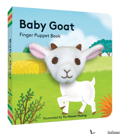 Baby Goat: Finger Puppet Book - Chronicle Books, illustrated by Yu-Hsuan Huang