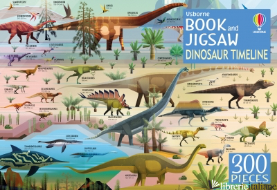Dinosaur Timeline Book and Jigsaw (book +300 Pieces Puzzle) - Rachel Firth