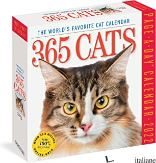 365 Cats Color Page-A-Day Calendar 2022 -