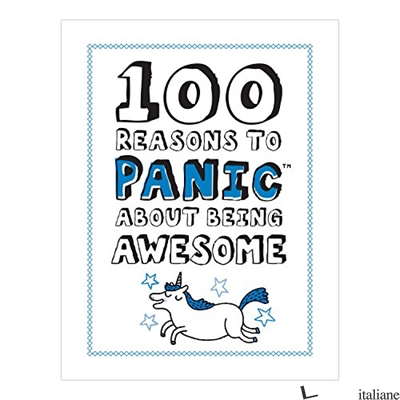 PANIC BOOK ABOUT BEING AWESOME - CORRELL GEMMA