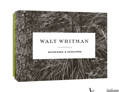 Walt Whitman Notecards - Princeton Architectural Press
