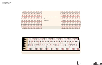 The Olivetti Pattern Series Pencil Set - Made by Memo