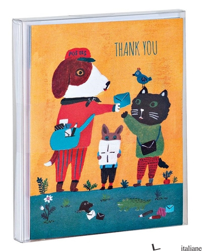 Doggy Thank You Notecards -