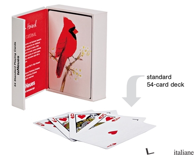 Red Cardinal Playing Cards - Howard