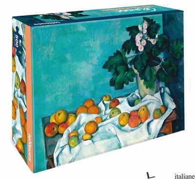 Still Life with Apple - Cezanne - puzzle - Paul Cezanne