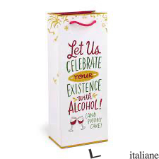 Emily McDowell & Friends Celebrate With Alcohol Wine Bag - Emily McDowell
