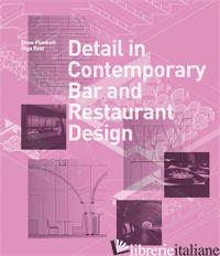 DETAIL IN CONTEMPORARY BAR AND RESTAURANT DESIGN - PLUNKETT