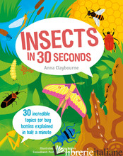 INSECTS IN 30 SECONDS - CLAYBOURNE