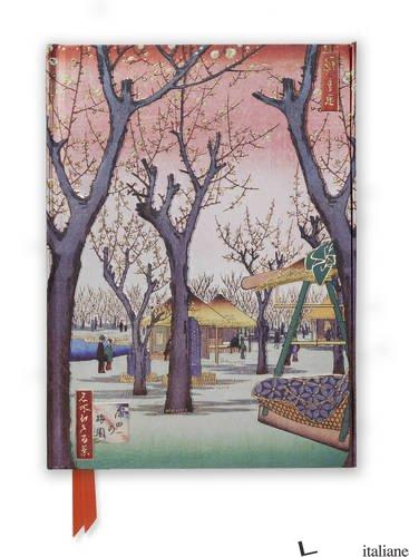 Hiroshige: Plum Garden - FLAME TREE