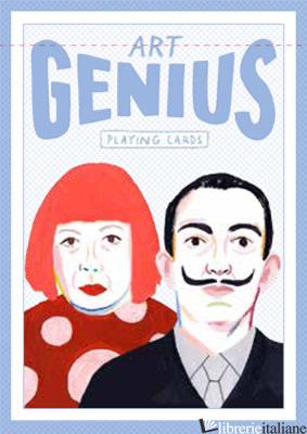 Genius Art (Genius Playing Cards) - Illustrations by Rebecca Clarke