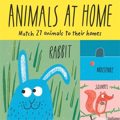 ANIMALS AT HOME - CLAUDIA BOLDT
