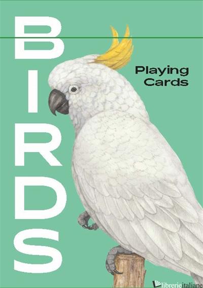 Birds, Playing Cards - Illustrations by Ryuto Miyake